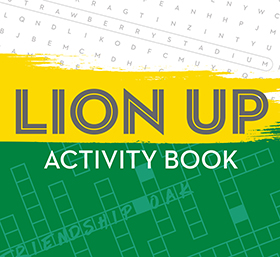 Lion Up Activity Book